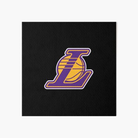 Lakers Art Board Print