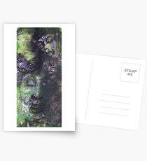 Face, Bernard Lacoque-122 Postcards