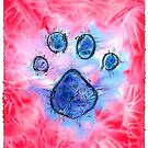 Dog Print by Bart Castle