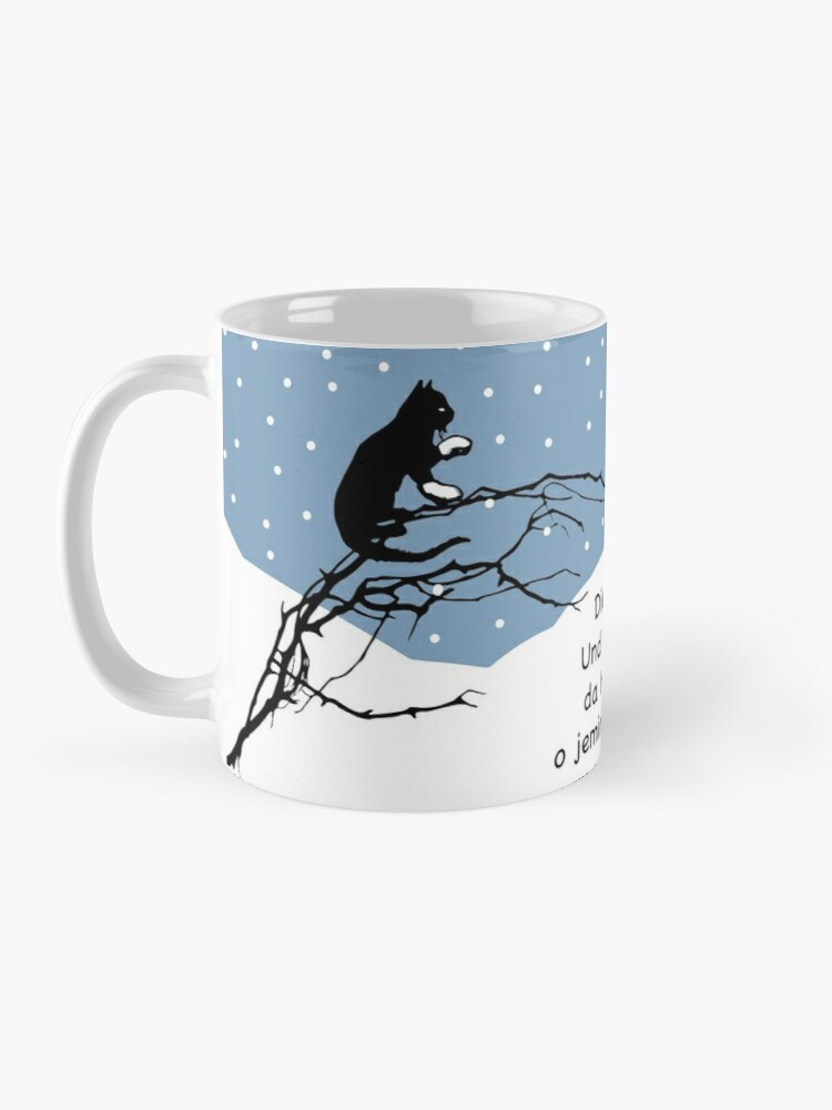 Alternate view of ABC, the cat ran in the snow ... nursery rhymes for fun and early childhood education Mug