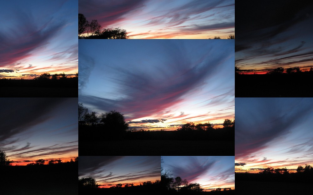 Blue Sunset by Debbie Robbins