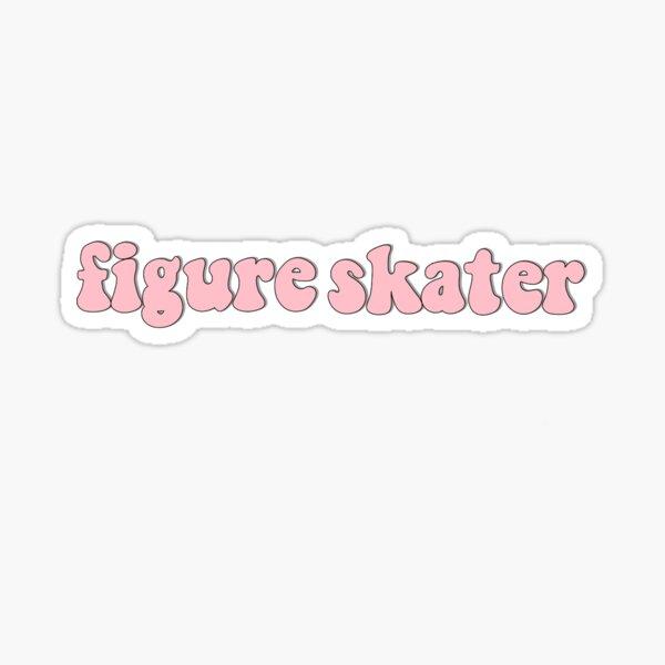 Figure skater Sticker