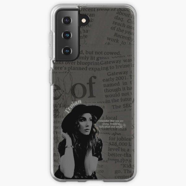 Troian Bellisario B&W Samsung Galaxy Soft Case