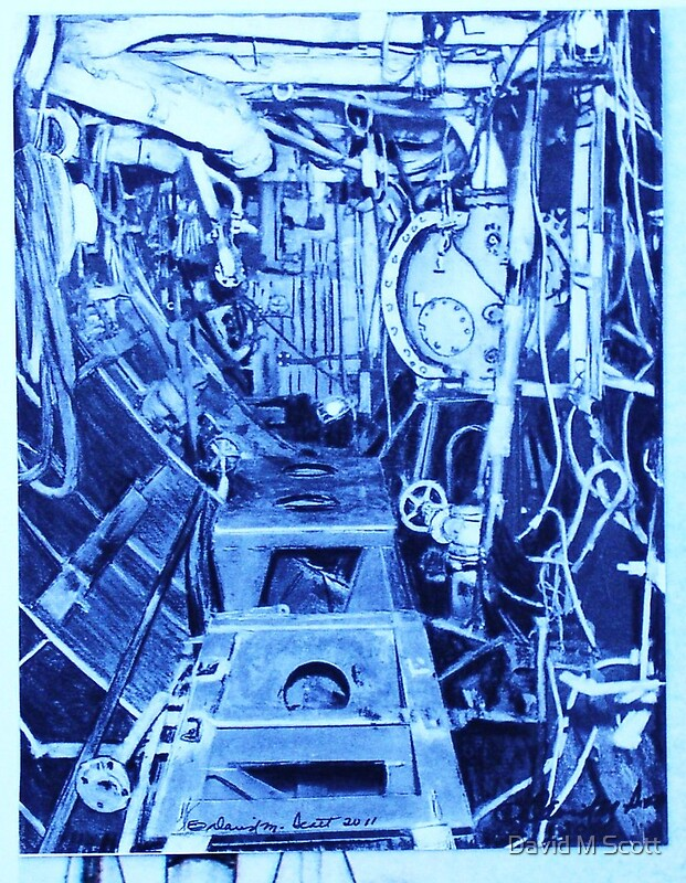"The Engine Room Design: ""The Engine Room Of A Gearing Class Destroyer"" By David M"