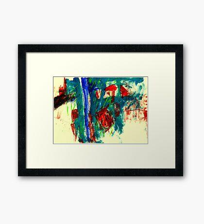 Rain Tuesday Framed Print