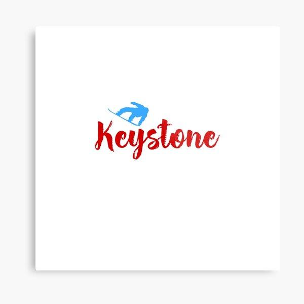 Keystone Ski & Winter Fun Metal Print