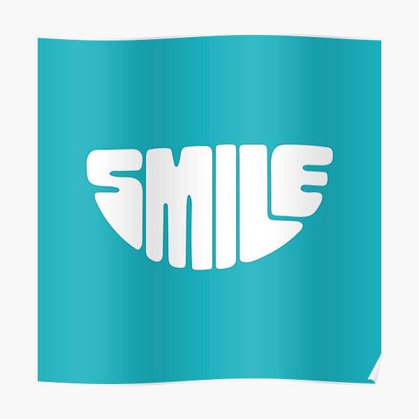 White Smile Poster