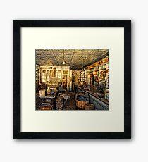 Bodie Store Framed Print