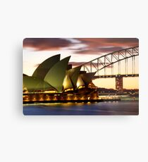 Sydney Icons Closeup Metal Print