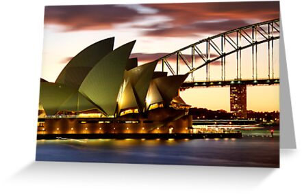 Sydney Icons Closeup by Melissa Fiene