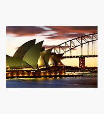 Sydney Icons Closeup Photographic Print