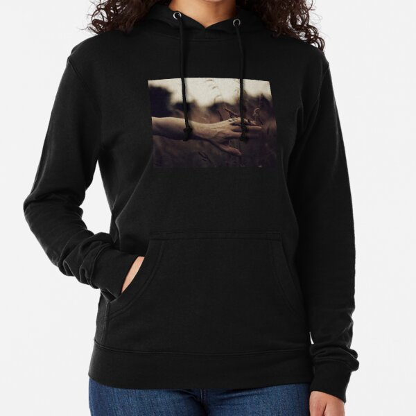 I can touch the summer, I can touch the dusk, But I can't touch you Lightweight Hoodie