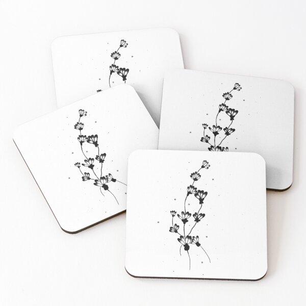 Lavender  Coasters (Set of 4)