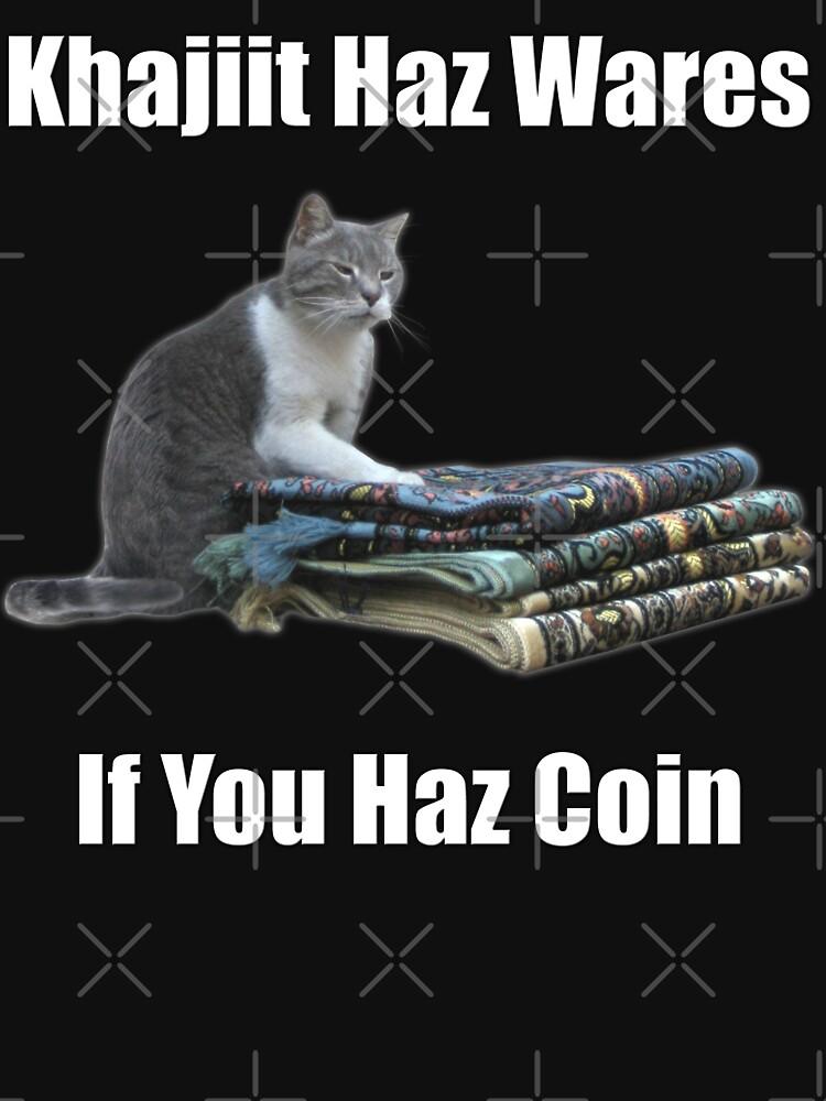 Khajiit haz wares - V.3 classic meme | Unisex T-Shirt