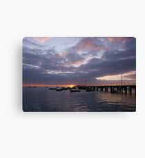 Kingscote Jetty Canvas Print