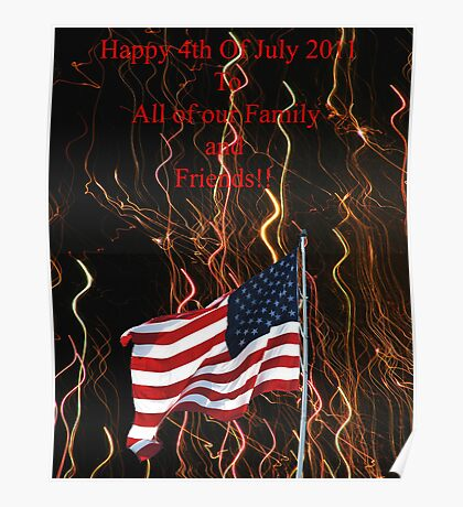 Happy 4th Of July 2011 Poster