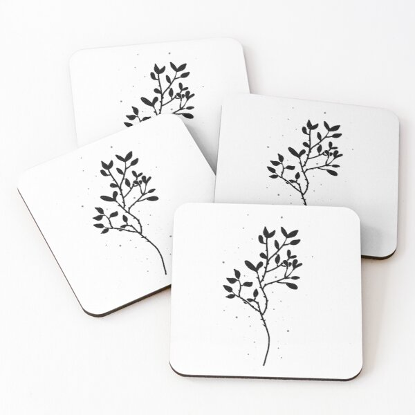 Foliage  Coasters (Set of 4)