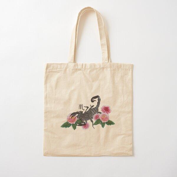 Scorpio Cotton Tote Bag