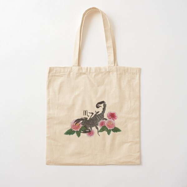 Scorpio Cotton Tote Bag