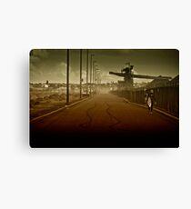 Steel walk Canvas Print