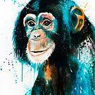 Chimpanzee 2 by Slaveika Aladjova