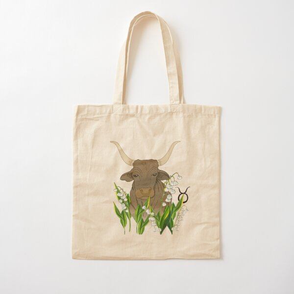 Taurus Cotton Tote Bag