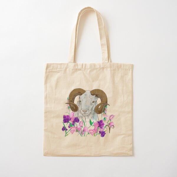 Aries Cotton Tote Bag