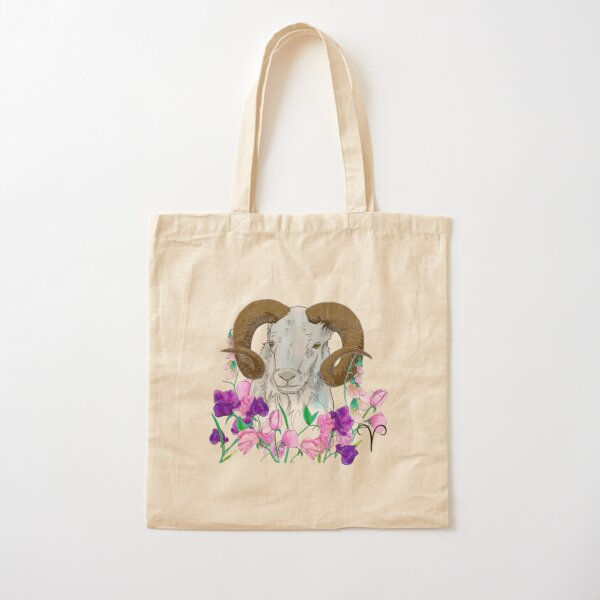 Aries Cotton Tote Bag
