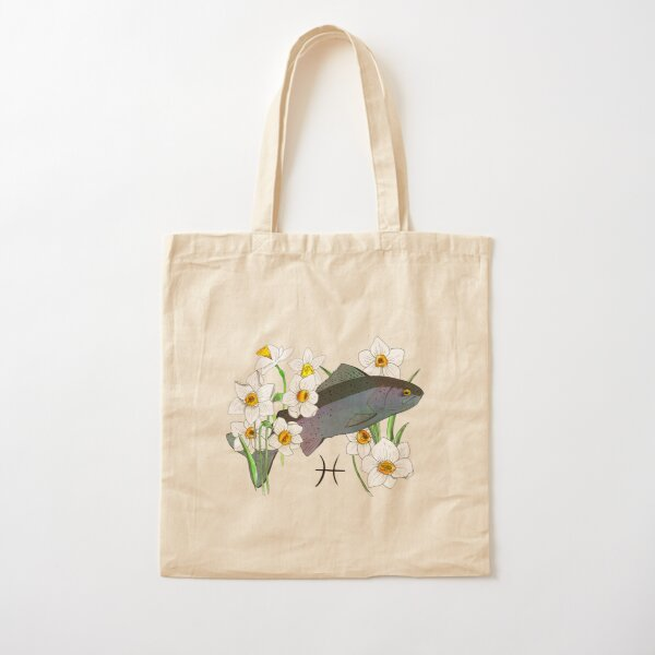 Pisces Cotton Tote Bag