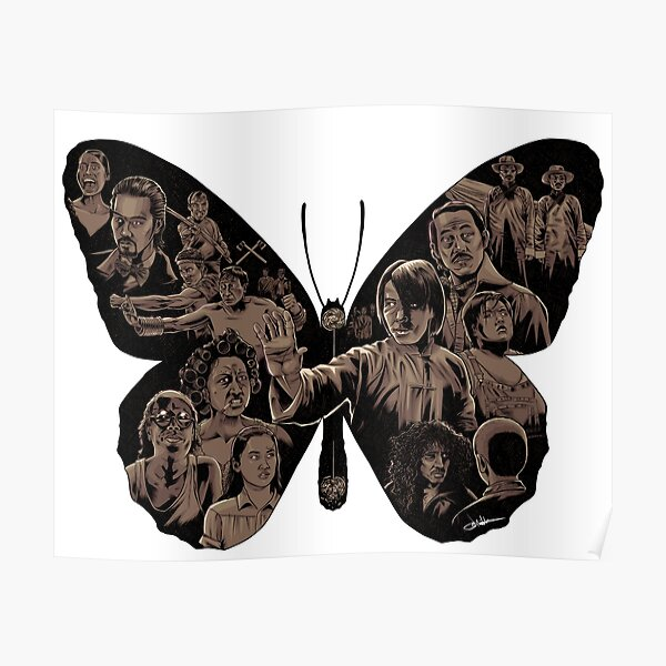 Kung Fu Hustle Butterfly Poster