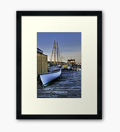 Boothbay Harbor, Maine Framed Print