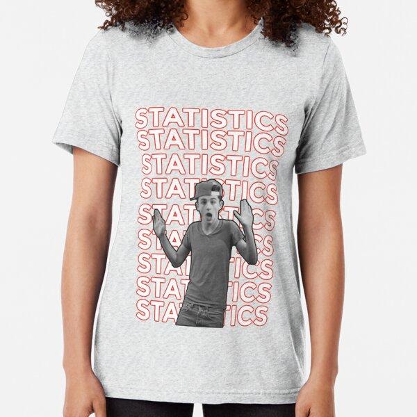 Timothée Chalamet statistics Tri-blend T-Shirt