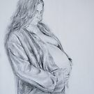 Michele expecting Anna Sophie by Anthropolog