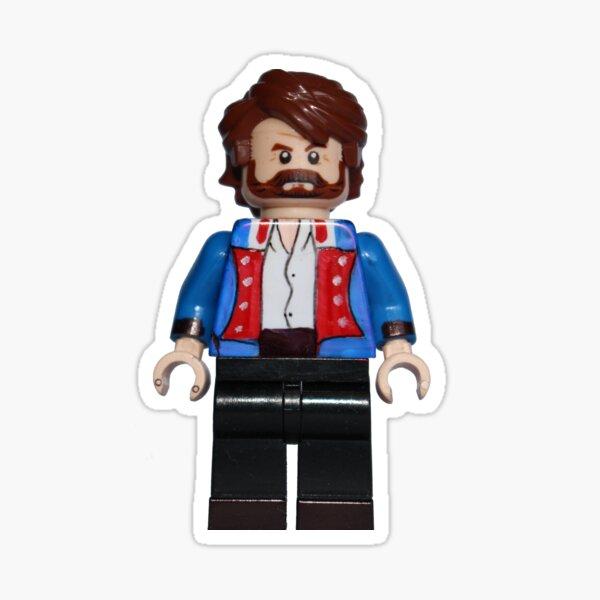 Jean Valjean - Les Miserables - Broadway Bricks Sticker