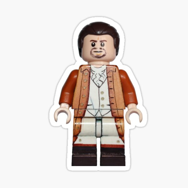 Alexander Hamilton - Hamilton - Broadway Bricks Sticker