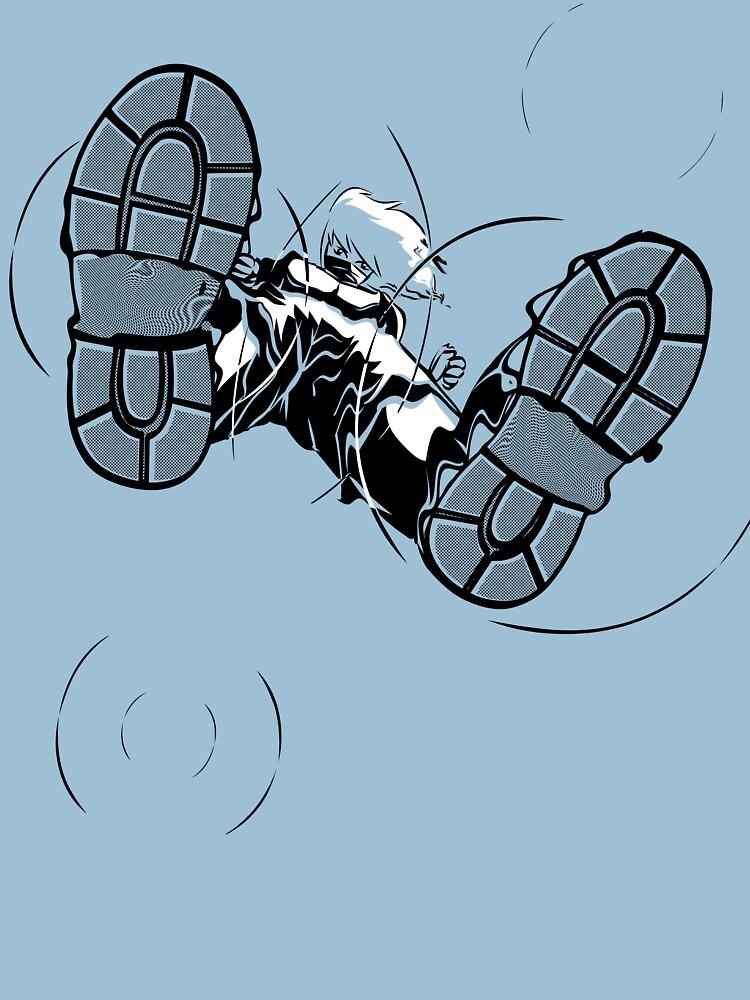 Ninjutsu! Art 21: walk on water! - Rebirth by japu