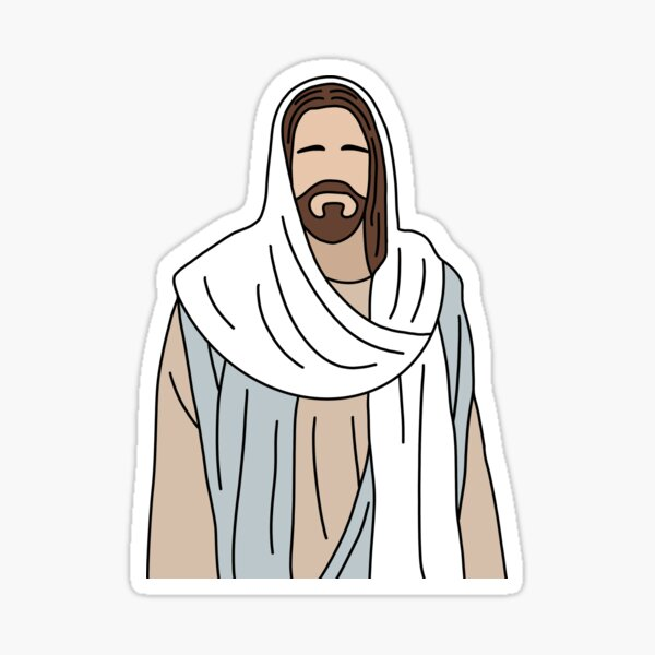 LDS Christ Sticker