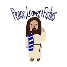 Jesus: Peace, Loaves and Fishes by Jami  Amerine