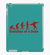 The Dude evolution red iPad Case/Skin