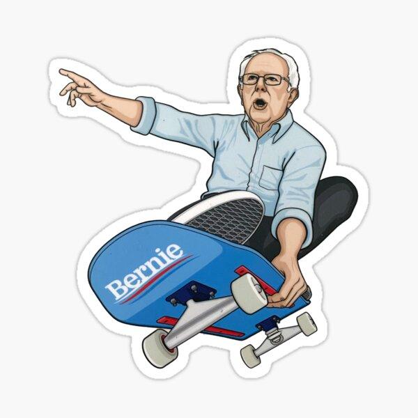 Skater Bernie Sticker