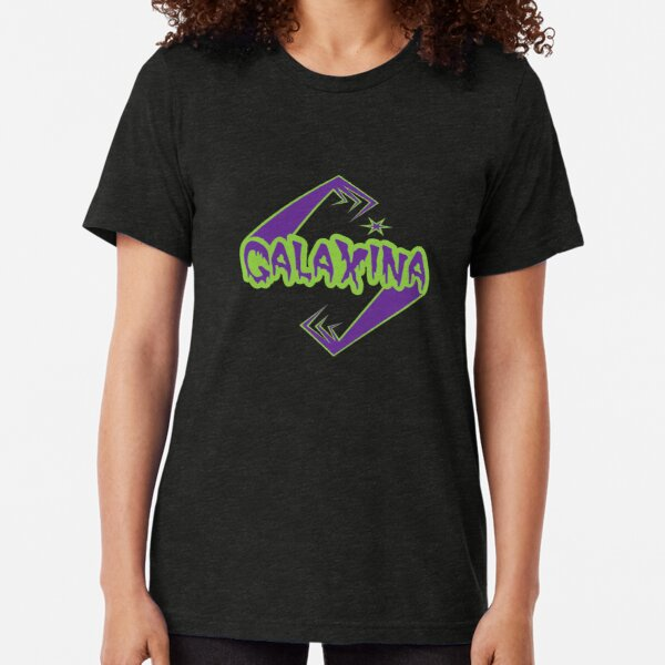 Galaxina Alien Arms Logo Tri-blend T-Shirt