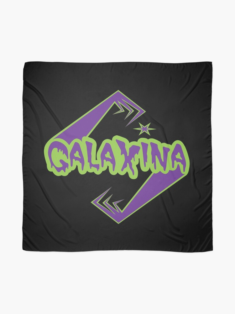 Alternate view of Galaxina Alien Arms Logo Scarf