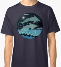 Dolphin`Leap for the Stars II'  Classic T-Shirt