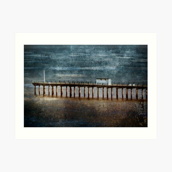 Felixstowe Pier Art Print