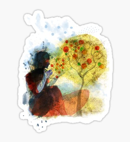 a whisper for mother nature Sticker