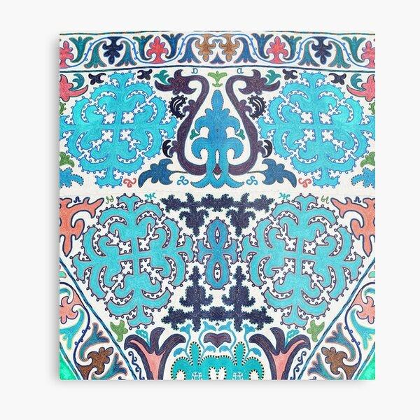 Kyrgyz felt carpet ala kiyiz (motley felt) Киргизский войлочный ковер ала-кийиз (пестрый войлок)
