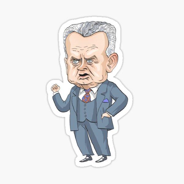John Diefenbaker, Prime Minister of Canada 1957-1963 Sticker
