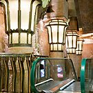 Escalators And Lamps by phil decocco
