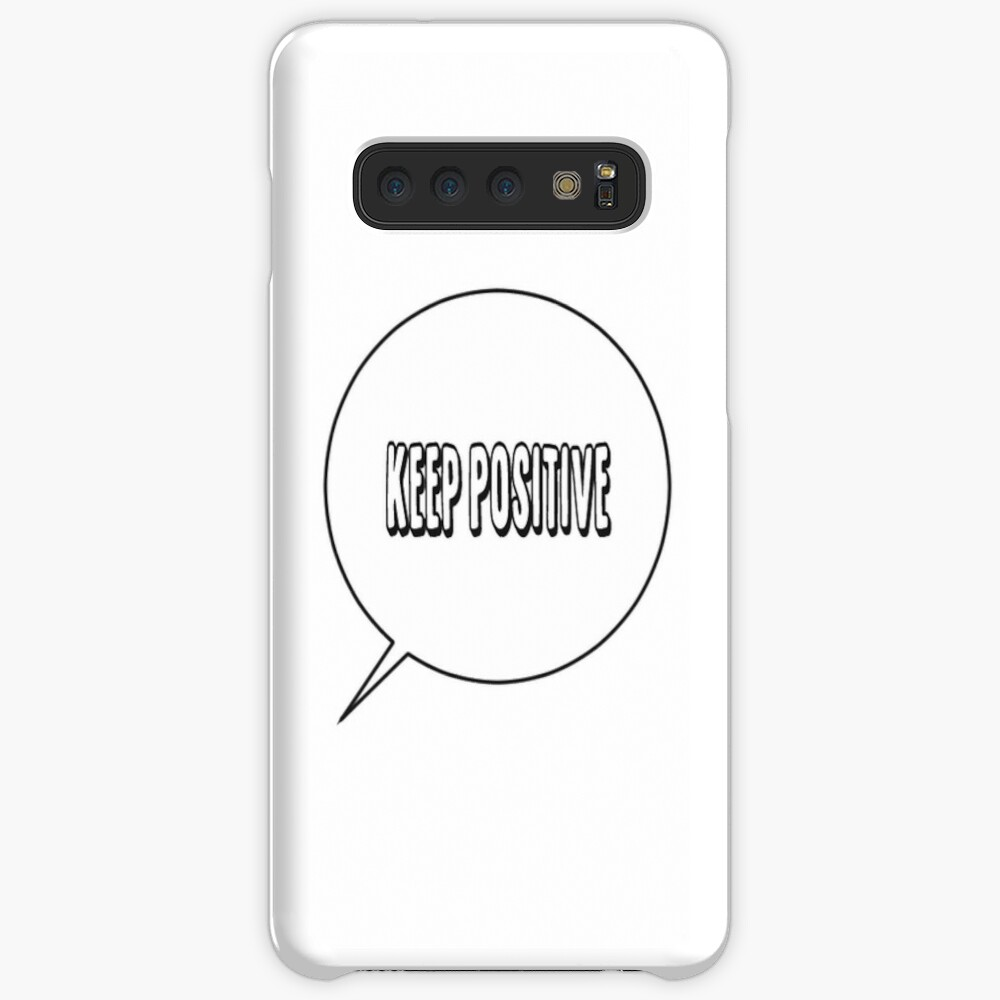 stay positive Case & Skin for Samsung Galaxy