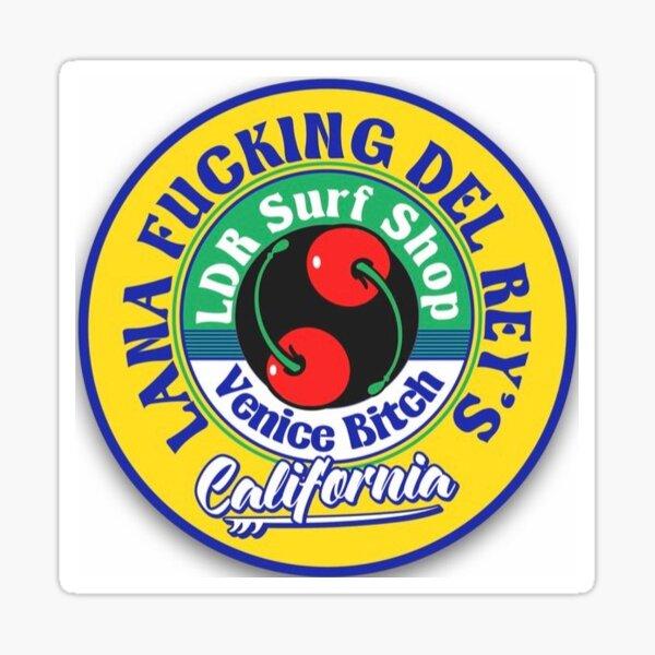 Lana del rey surf shop  Sticker